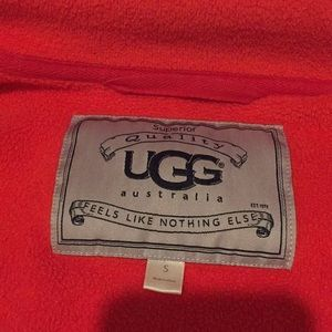 UGG Duffield Robe - Red